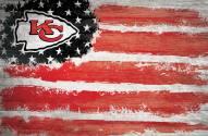 "Kansas City Chiefs 17"" x 26"" Flag Sign"