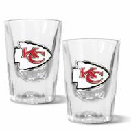 Kansas City Chiefs 2 oz. Prism Shot Glass Set