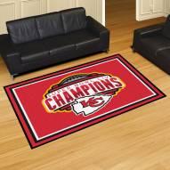 Kansas City Chiefs 2020 Super Bowl Champs 5' x 8' Area Rug