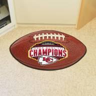 Kansas City Chiefs 2020 Super Bowl Champs Football Floor Mat