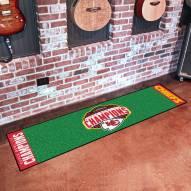 Kansas City Chiefs 2020 Super Bowl Champs Golf Putting Green Mat