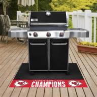 Kansas City Chiefs 2020 Super Bowl Champs Grill Mat