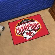 Kansas City Chiefs 2020 Super Bowl Champs Starter Rug