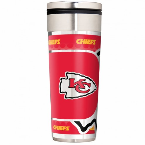Kansas City Chiefs 22 oz. Hi Def Travel Tumbler