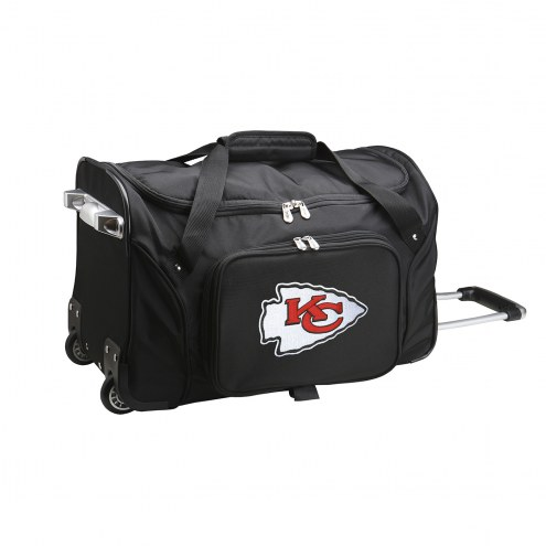 "Kansas City Chiefs 22"" Rolling Duffle Bag"