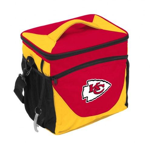 Kansas City Chiefs 24 Can Cooler