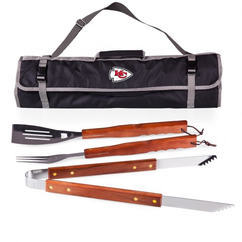 Kansas City Chiefs 3 Piece BBQ Set