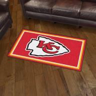 Kansas City Chiefs 3' x 5' Area Rug