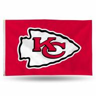 Kansas City Chiefs 3' x 5' Banner Flag