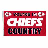 Kansas City Chiefs 3' x 5' Country Flag