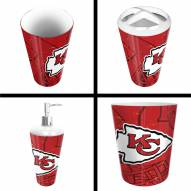 Kansas City Chiefs 4-Piece Bath Set