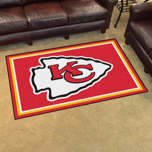 Kansas City Chiefs 4' x 6' Area Rug