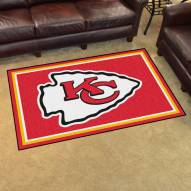 Kansas City Chiefs 4' x 6' Area Rug