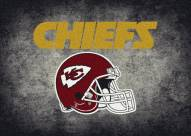 Kansas City Chiefs 4' x 6' NFL Distressed Area Rug