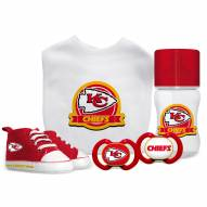 Kansas City Chiefs 5-Piece Baby Gift Set