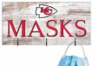"Kansas City Chiefs 6"" x 12"" Mask Holder"