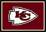 Kansas City Chiefs 6' x 8' NFL Team Spirit Area Rug