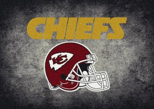 Kansas City Chiefs 8' x 11' NFL Distressed Area Rug