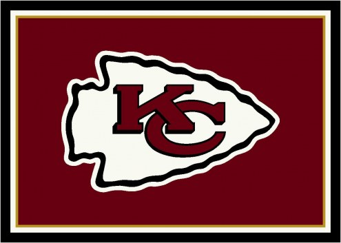 Kansas City Chiefs 8' x 11' NFL Team Spirit Area Rug