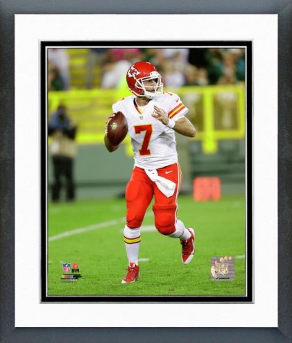 Kansas City Chiefs Aaron Murray Action Framed Photo