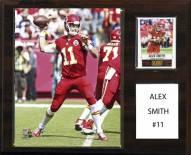 """Kansas City Chiefs Alex Smith 12"""" x 15"""" Player Plaque"""