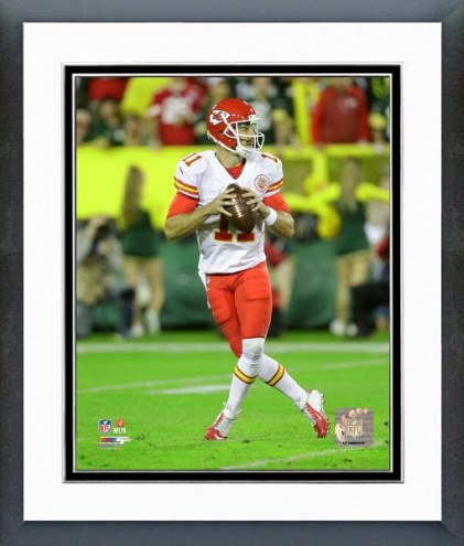 Kansas City Chiefs Alex Smith Action Framed Photo