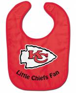 Kansas City Chiefs All Pro Little Fan Baby Bib