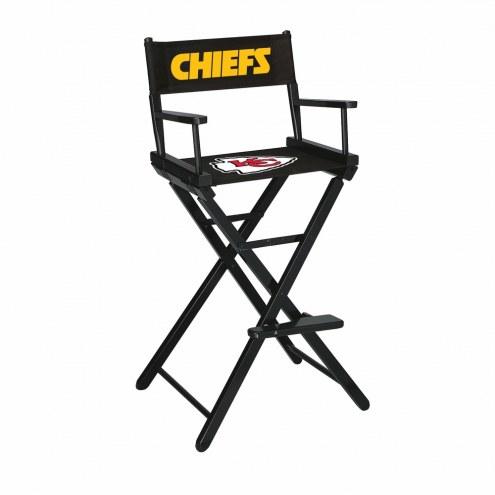 Kansas City Chiefs Bar Height Director's Chair