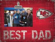 Kansas City Chiefs Best Dad Clip Frame