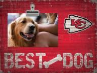 Kansas City Chiefs Best Dog Clip Frame