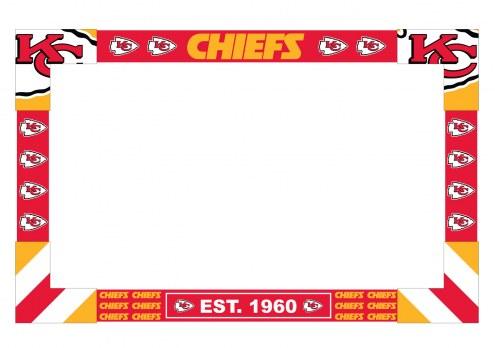Kansas City Chiefs Big Game Monitor Frame