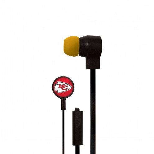 Kansas City Chiefs Big Logo Ear Buds