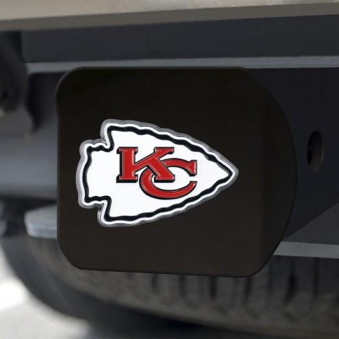 Kansas City Chiefs Black Color Hitch Cover