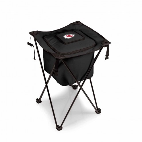 Kansas City Chiefs Black Sidekick Portable Cooler