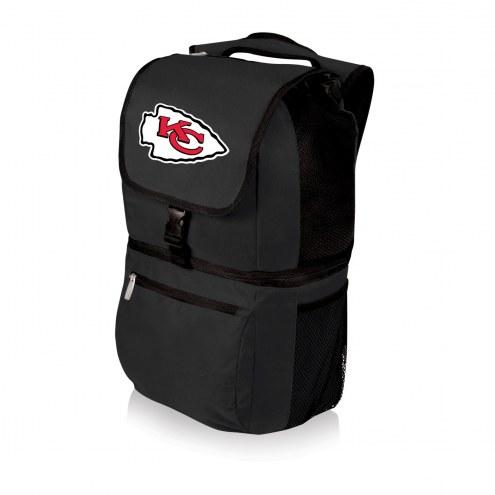 Kansas City Chiefs Black Zuma Cooler Backpack