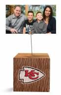 Kansas City Chiefs Block Spiral Photo Holder