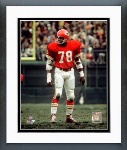 Kansas City Chiefs Bobby Bell Action Framed Photo