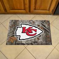 Kansas City Chiefs Camo Scraper Door Mat