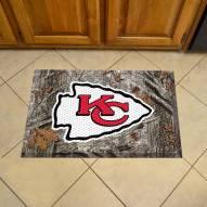 Kansas City Chiefs Camo Scraper Door Mat