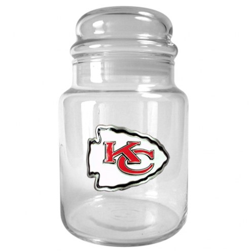 Kansas City Chiefs Candy Jar