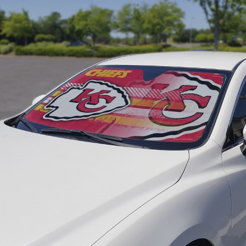 Kansas City Chiefs Car Sun Shade