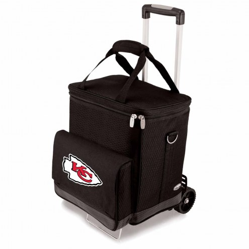 Kansas City Chiefs Cellar Cooler with Trolley