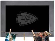 Kansas City Chiefs Chalkboard with Frame