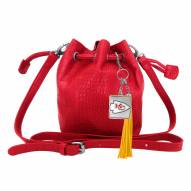 Kansas City Chiefs Charming Mini Bucket Bag