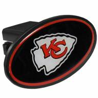 Kansas City Chiefs Class III Plastic Hitch Cover