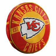 Kansas City Chiefs Cloud Travel Pillow