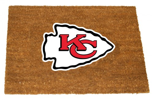 Kansas City Chiefs Colored Logo Door Mat
