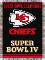 Kansas City Chiefs Commemorative Throw Blanket