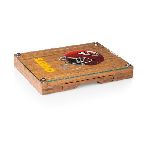 Kansas City Chiefs Concerto Bamboo Cutting Board