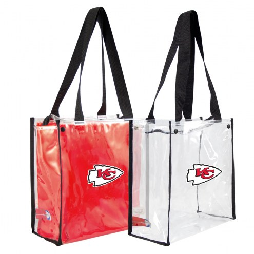 Kansas City Chiefs Convertible Clear Tote
